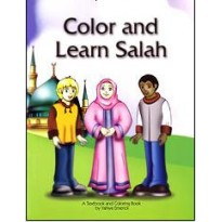 Colour and Learn Salah - Colouring Book