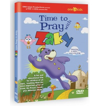 Time to Pray with Zaky!